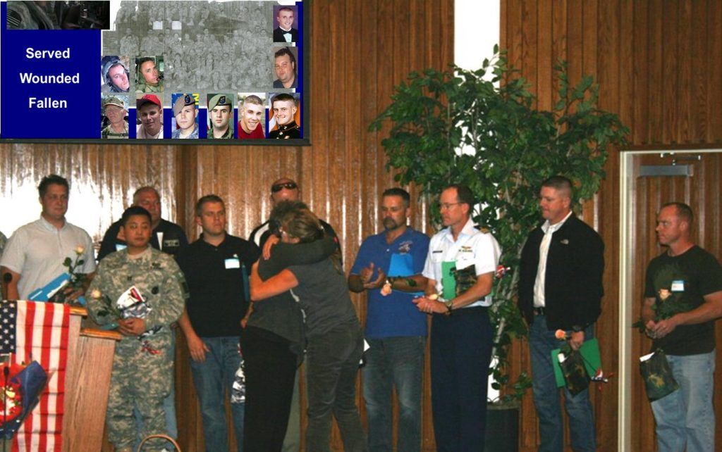 Changing Worldviews' Operation Heartlift Event Honoring Troops back from Iraq and Afghanistan